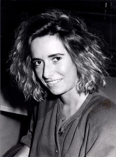 Inmaculada Martínez Navarro. Estudiante. Curso 1988-89