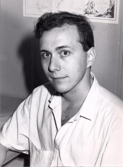 Leonardo Sánchez Ferrer. Estudiante. Curso 1988-89