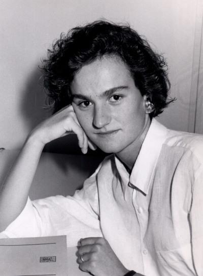 Berta Álvarez. Estudiante. Curso 1989-90