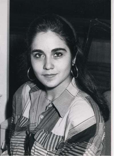 Pilar Gangas. Estudiante. Curso 1989-90