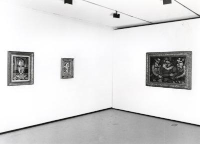 Vista parcial de la exposición Georges Rouault