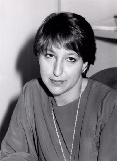 Eva Velasco Moreno. Estudiante. Curso 1990-91