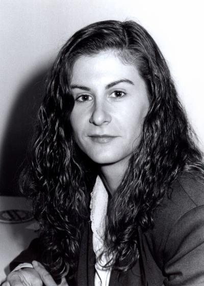 Araceli García del Soto. Estudiante. Curso 1991-92