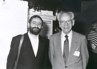 Francesc X. Avilés y Hans Neurath. Workshop Yeast Transport and Energetics