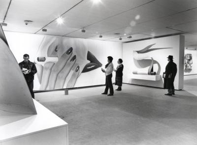 Vista parcial de la exposición Tom Wesselmann