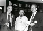 Daniel S. Longnecker, Manuel Perucho y Tony Hollingsworth. Workshop On Cell and Molecular Biology of Pancreatic Cancer, 1992