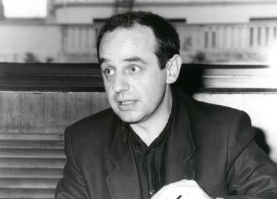 Pedro Luis Iriso. Profesor de seminario. Curso 1992-93