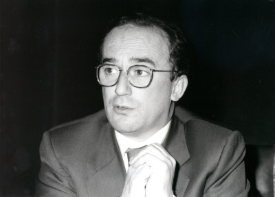 Santiago Muñoz Machado. Profesor de seminario. Curso 1993-94
