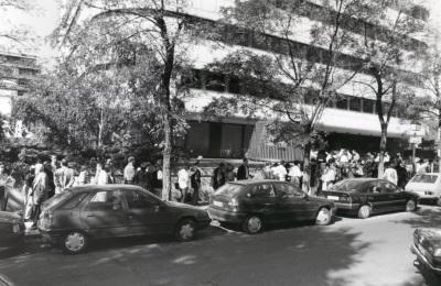 Visitantes a la exposición Toulouse-Lautrec De Albi y de otras colecciones