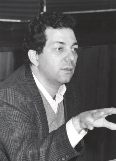 Dimitrios Sotiropoulos. Profesor de seminario. Curso 1994-95