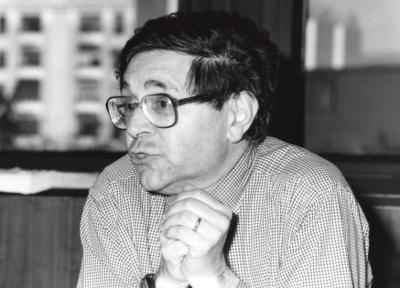 Gianfranco Poggi. Profesor de seminario. Curso 1994-95