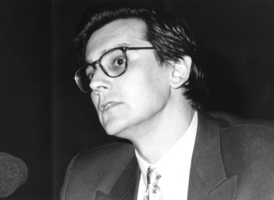 Fernando Vallespín Oña. Profesor de seminario. Curso 1994-95