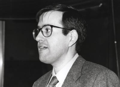 Carles Boix. Profesor de seminario. Curso 1994-95