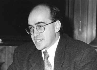 Alain Gagnon. Profesor de seminario. Curso 1995-96
