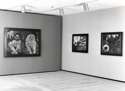 Vista parcial de la exposición Emil Nolde Naturaleza y Religión