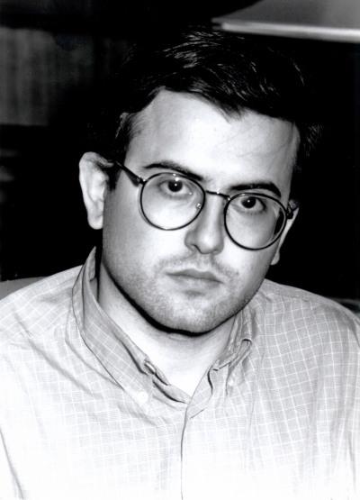 Francisco Herreros Vázquez. Estudiante. Curso 1996-97