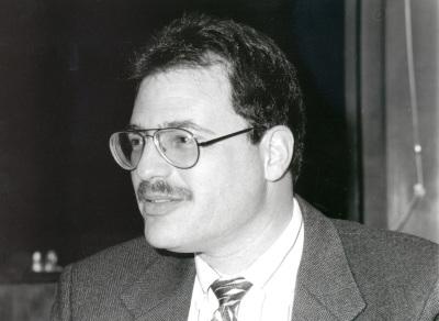 Larry Diamond. Profesor de seminario. Curso 1996-97