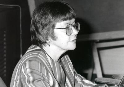 Jane Jenson. Profesora de seminario. Curso 1996-97