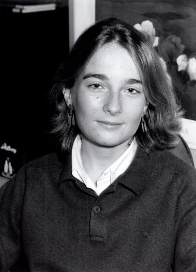 Elisa Díaz Martínez. Estudiante. Curso 1997-98