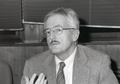 Marino Regini. Profesor de seminario. Curso 1997-98