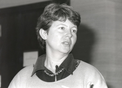 Donatella de la Porta. Profesora de seminario. Curso 1997-98