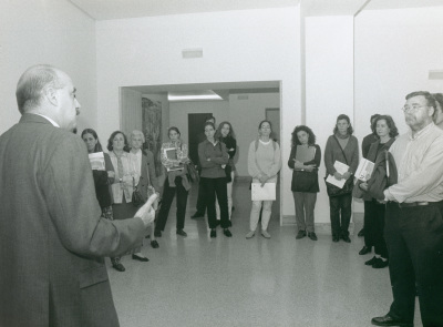 Javier Maderuelo en el curso sobre Conocimiednto del Arte Contemporáneo