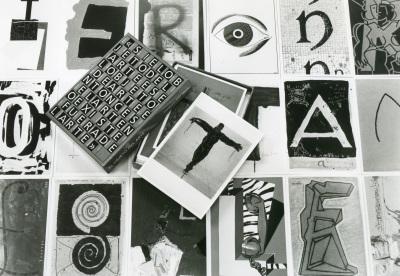 Vista parcial de la exposición El objeto del arte