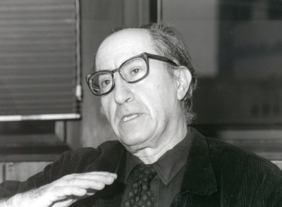 Vicente Navarro. Profesor de seminario. Curso 1998-99