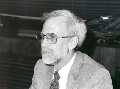 David Laitin. Profesor de seminario. Curso 1998-99