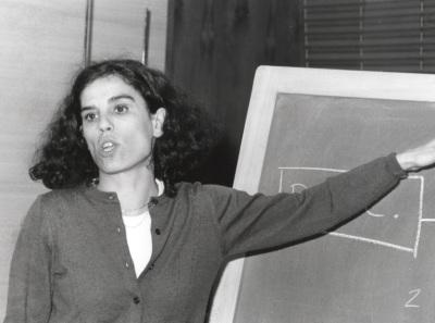 Ana Rico Gómez. Profesora de seminario. Curso 1998-99