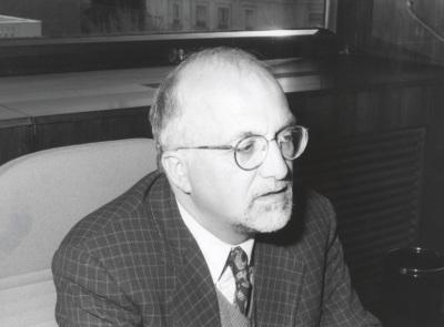 Karl U. Mayer. Profesor de seminario. Curso 1999-2000