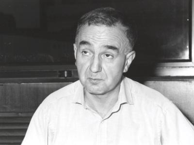 Bernard Manin. Profesor de seminario. Curso 1999-2000