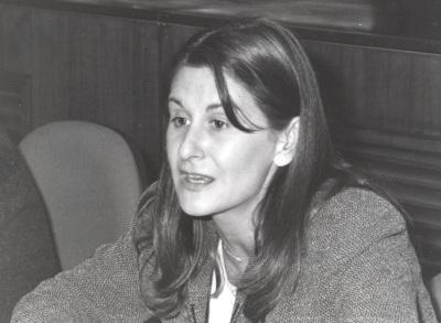 Araceli García del Soto. Profesora de seminario. Curso 1999-2000
