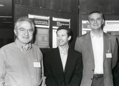 José María Mato, Jonathan S. Stamler y Santiago Lamas. Workshop Regulation of Protein Function by Nitric Oxide