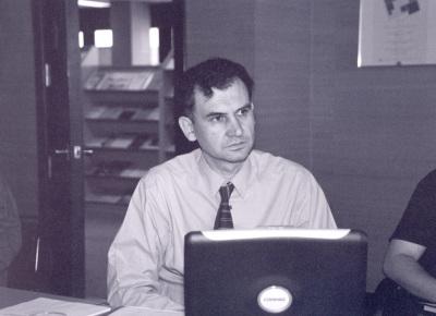 Jacint Jordana. Profesor de seminario. Curso 2001-02
