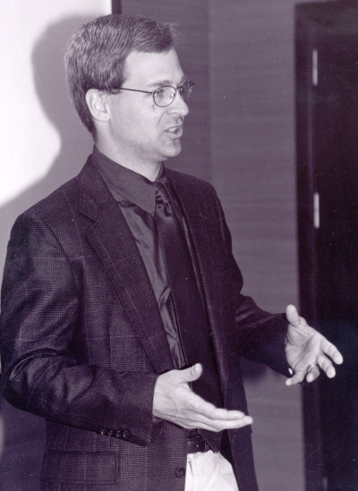 John Huber. Profesor de seminario. Curso 2001-02