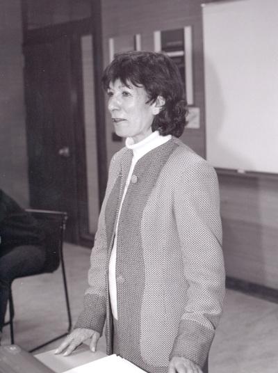 Carlota Solé. Profesora de seminario. Curso 2002-03