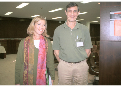 Pascale Cossart y Guy R. Cornelis. Workshop Finding the Way Out Protein Traffic in Bacteria