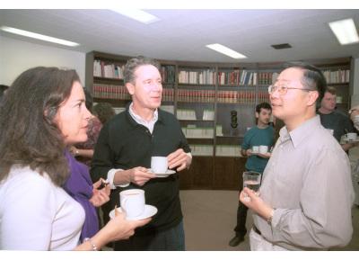 Nadia Rosenthal, Frank Mckeon y Jun O. Liu. Workshop The Calcium/Calcineurin/NFAT Pathway Regulation and Function