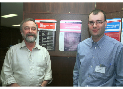 Hans Joenge y Jordi Surrallés. Workshop: Molecular Cross Talk Among Chromosome Fragility Syndromes