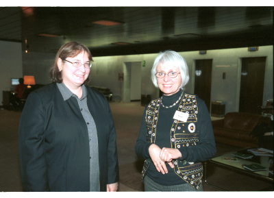 María Jasin y Penelope A. Jeggo. Workshop Molecular Cross Talk Among Chromosome Fragility Syndromes