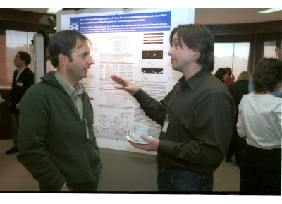 Antonio Antoccia y John H.J. Petrini. Workshop Molecular Cross Talk Among Chromosome Fragility Syndromes