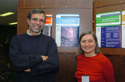 Ignacio Sandoval y Barbara M.F. Pearse. Workshop Molecular Mechanisms of Vesicle Selectivity