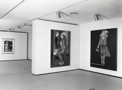 Vista parcial de la exposición Richard Lindner