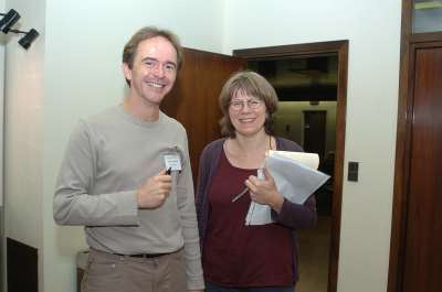 Pascal Tkerond y Anne Plessis. Workshop Interpreting Hedgehog-Gli Signalling
