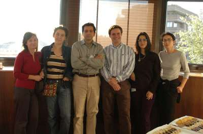 Barbara Stecca, Ariel Ruiz i Altaba, Verónica A. Palma, Pilar Sánchez, José Luis Mullor y Nadia Dahmane. Workshop Interpreting Hedgehog-Gli Signalling
