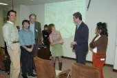Marcelo G. Kazanietz, Peter J. Parker, Alex Toker, Alexandra C. Newton y Benafshe Laritani. Workshop Molecular Advances in DAG Signalling, 2004