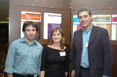 Marcelo G. Kazanietz, Peter J. Parker y Teresa Iglesias. Workshop Molecular Advances in DAG Signalling