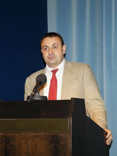 Ignacio Sánchez-Cuenca, Director de investigación del CEACS desde junio de 2008, en el acto de fin de curso