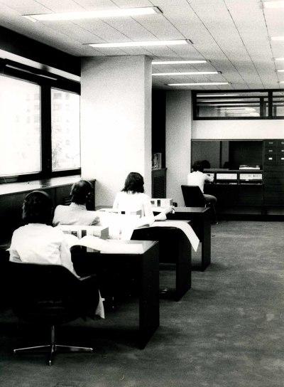 Salas de trabajo de la Biblioteca de la Fundación